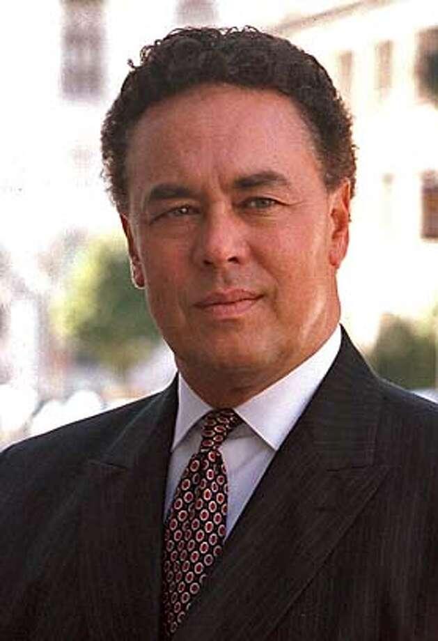 fazio  bill fazio, candidate for san francisco District Attorney, 2003. Handout photo 9/30/03 Photo: Handout