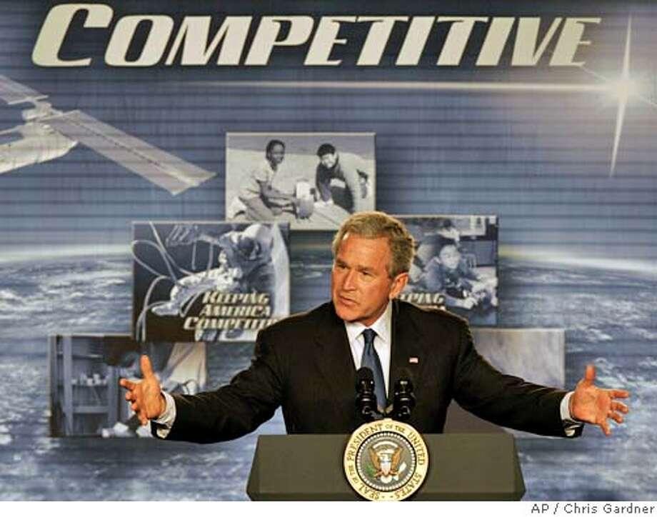 George Bush Photo: CHRIS GARDNER