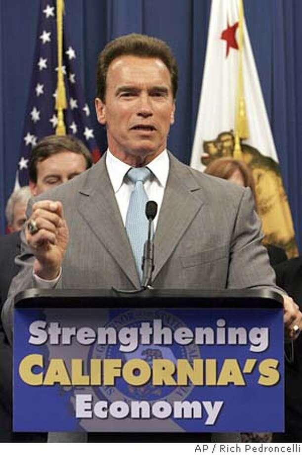 Arnold Schwarzenegger Photo: RICH PEDRONCELLI