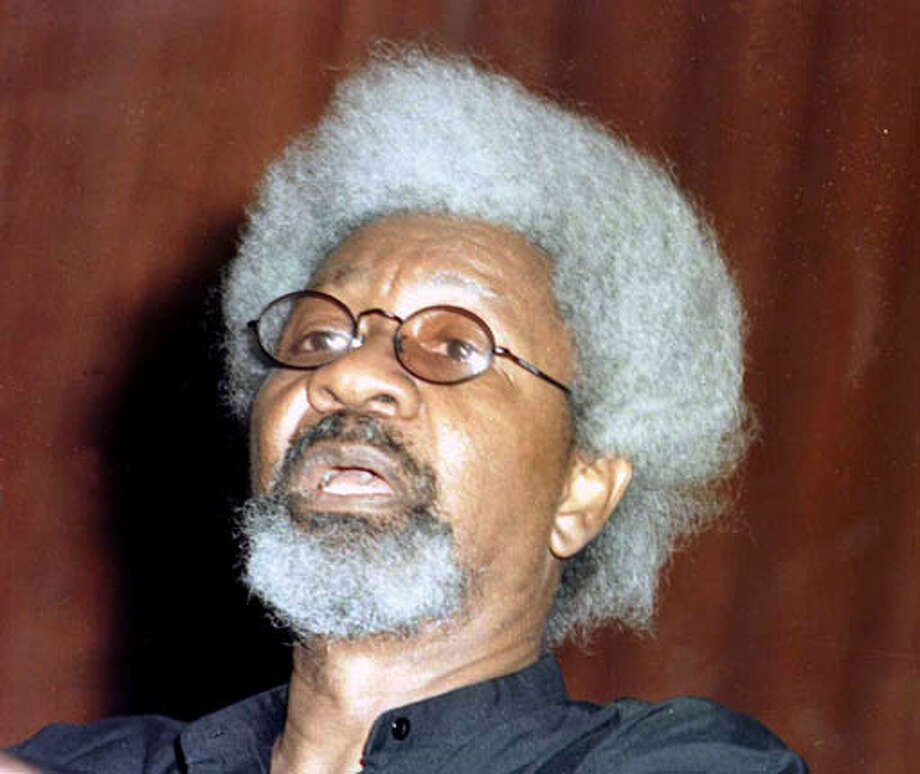 "Wole Soyinka: The author of the memoir ""You Must Set Forth at Dawn"" will appear at 7:30 p.m. Saturday at Cody's, 2454 Telegraph Ave., Berkeley. (510) 845-7852. Associated Press file photo, 2001, by Peter Obe"