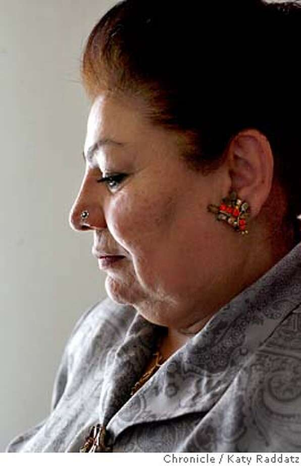MAHWASH05_074_RAD.jpg  SHOWN: Ustad Farida Mahwash is one of Afghanistan's greatest singers. We meet her in her house in Fremont, CA. The interpreter is Monir Memarpuri.  (Katy Raddatz/The Chronicle)  ** Mandatory credit for the photographer and the San Francisco Chronicle. No sales; mags out. Photo: Katy Raddatz