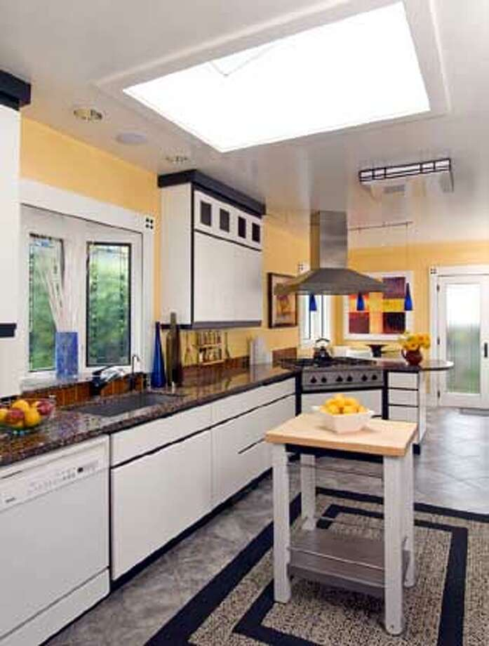 HOme of Annette Chenevy and Andy Black on the Rockridge Kitchen Tour Oct. 7  OLYMPUS DIGITAL CAMERA Photo: Handout