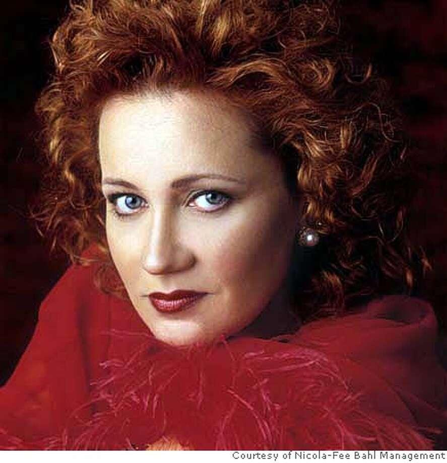Olga Borodina, mezzo-soprano  Pictured: Mezzo-soprano Olga Borodina makes her Cal Performances debut September 30, 2007.  PHOTO: Courtesy of Nicola-Fee Bahl Management Photo: Ho