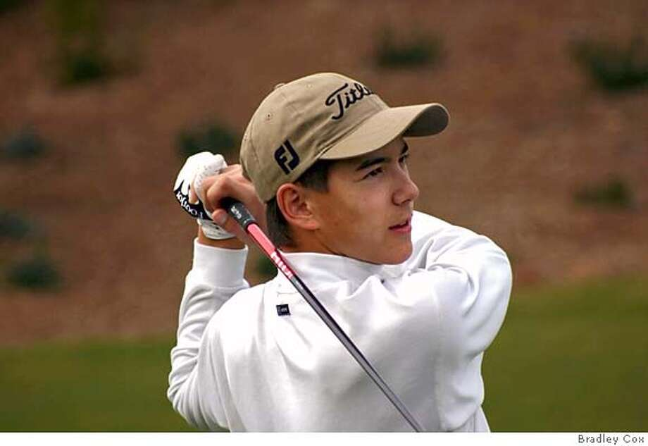 This is tight action shot of Serra golfer Jordan Cox. Photo by Bradley Cox Photo: Bradley Cox