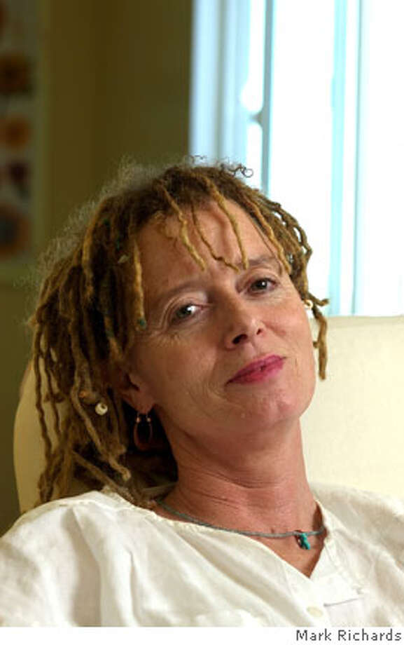 """Anne Lamott, author of the newly-published """"Grace (Eventually): Thoughts on Faith.""""  Photo by Mark Richards"""