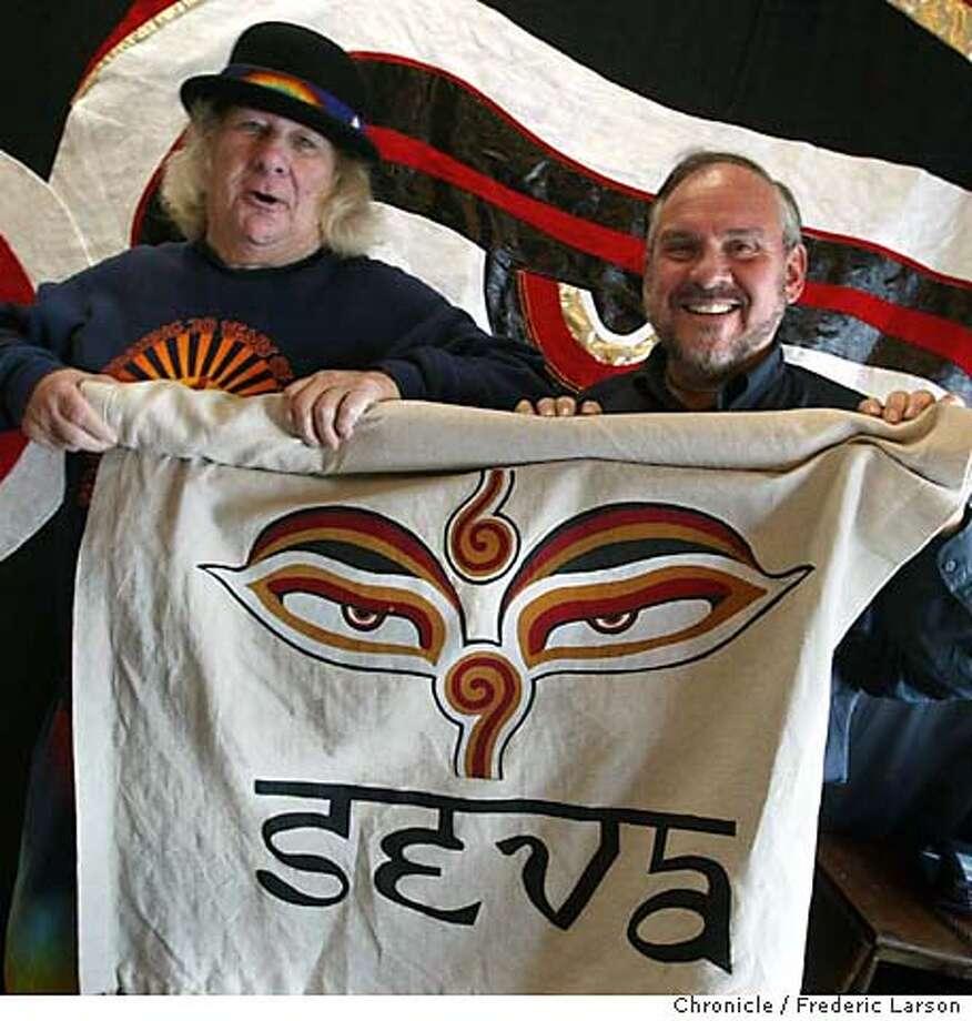 Wavy Gravy (left)