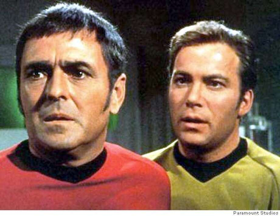 SCOTTY23 Scotty (James Doohan) in Star Trek. Paramount Studios Ran on: 08-23-2005  James Doohan (left) played Scotty, the Enterprise's beleaguered chief engineer, and William Shatner was Capt. Kirk in &quo;Star Trek.&quo; Ran on: 08-23-2005  Pat RobertsonRan on: 02-21-2006  A rocket carrying the ashes of Mercury program astronaut Gordon Cooper (left), &quo;Star Trek&quo; actor James Doohan (right) and 185 others is planned for launch from Vandenberg sometime next month.Ran on: 02-21-2006 Photo: X