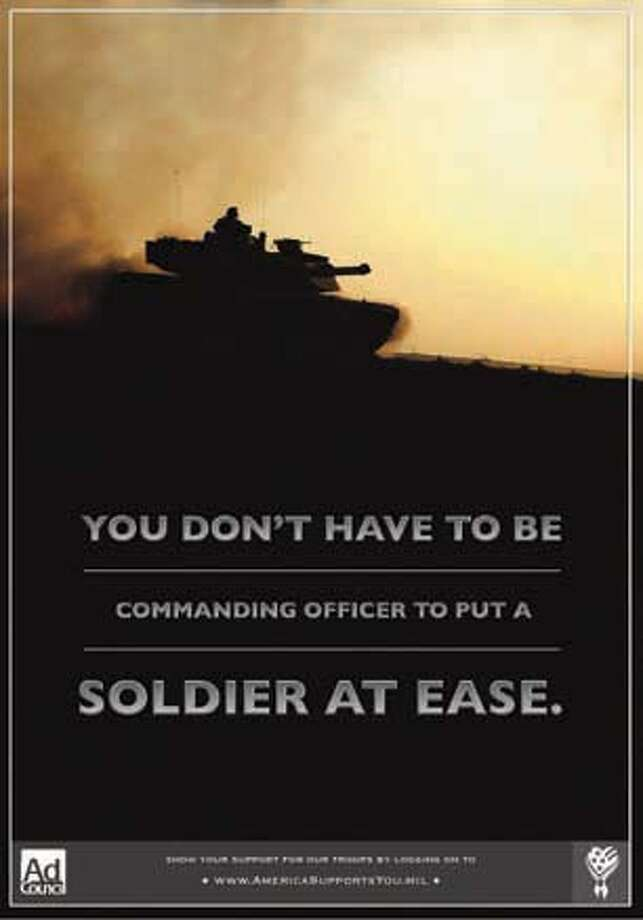 "Book cover art for, ""Soldier At Ease."" Photo: Xx"