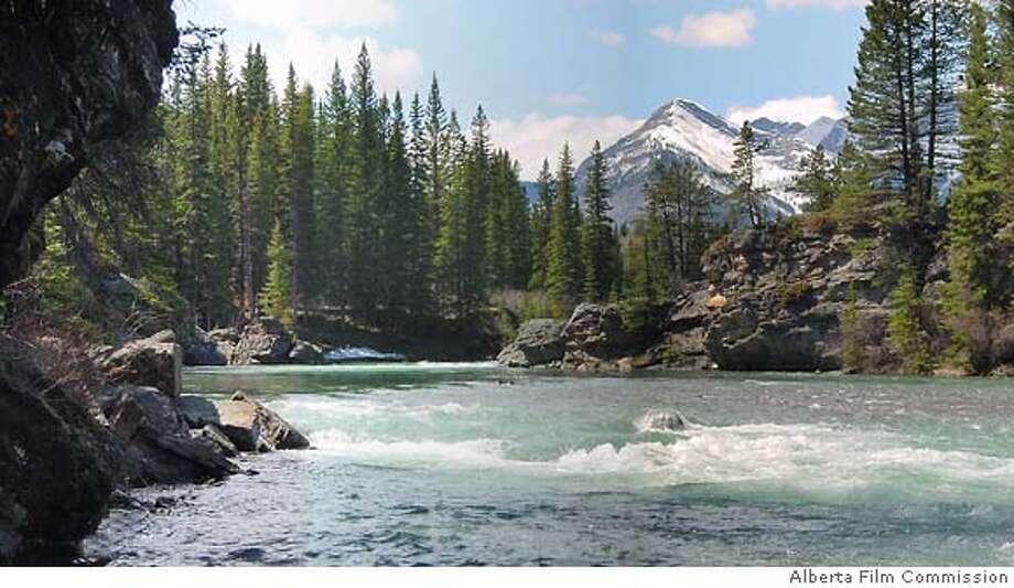 TRAVEL CANADA FICTIONAL -- A mountain stream in Kananaskis Country in Alberta, Canada. Alberta Film Commission Photo: Alberta Film Commission
