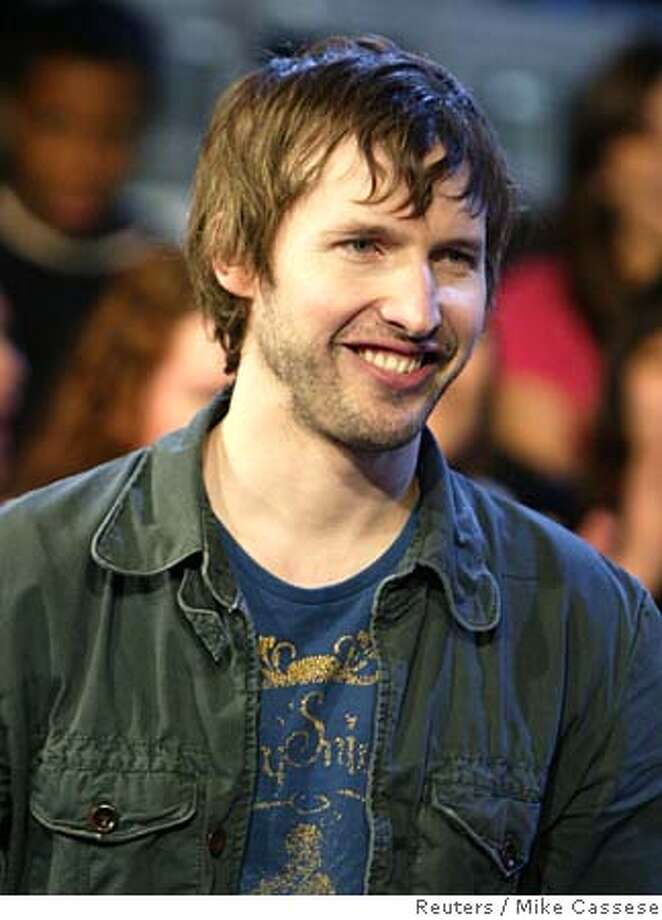 British singer James Blunt appears for interview and live performance in Toronto Photo: MIKE CASSESE