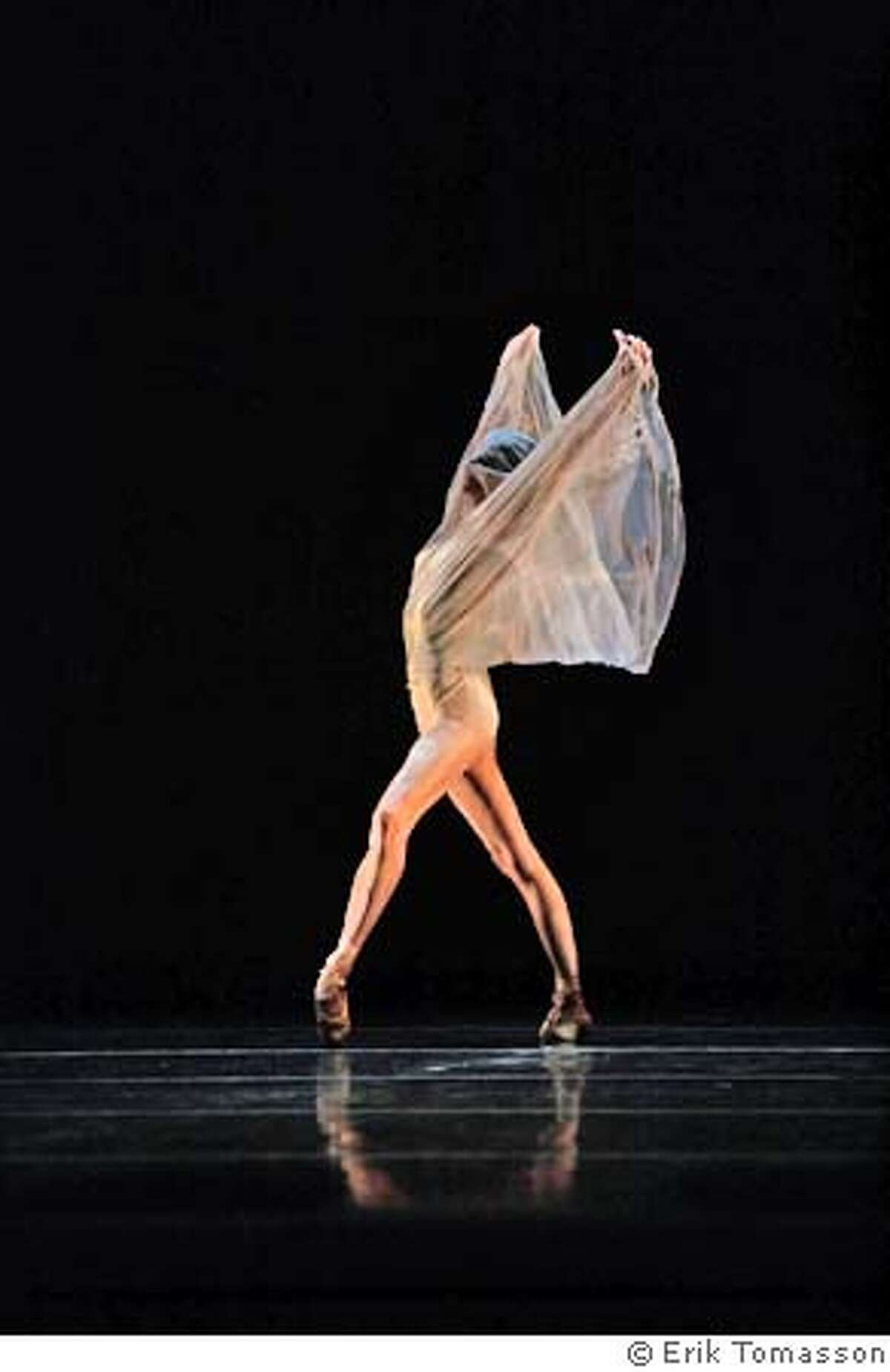 Muriel Maffre in Ballet Mori. Credit: � Erik Tomasson