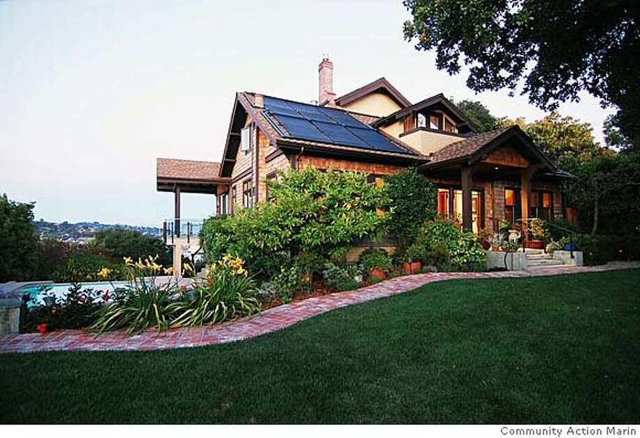San Rafael Craftsman house is grand prize in auction Feb. 9 (2008) to benefit Community Action Marin. Tickets are $150 Photo: Community Action Marin