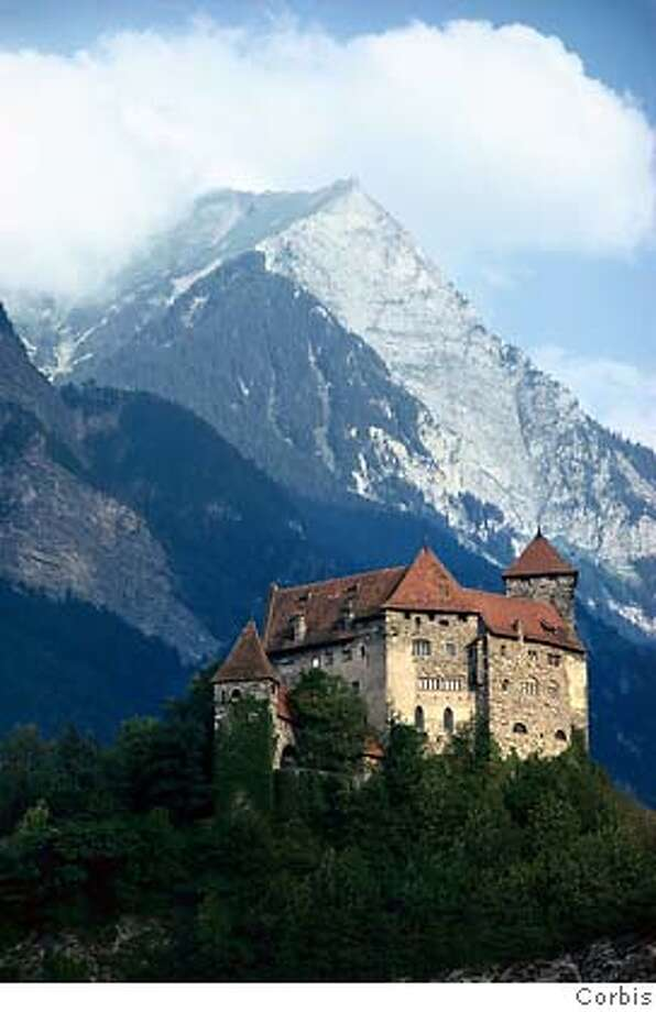 TRAVEL GEOQUIZ -- This European nation is so small that it can be rented out for corporate events, and the entire population is invited to the royal castle for drinks on the national holiday. Where are you? Answer: Liechtenstein Photo: Corbis