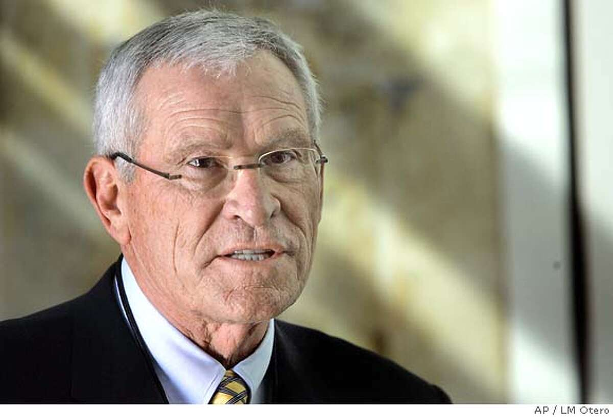 Edward E. Whitacre Jr., chairman of the board and CEO of AT&T, is photographed in Irving, Texas, Thursday, Feb. 9, 2006. (AP Photo/LM Otero)Ran on: 02-16-2006 Whitac