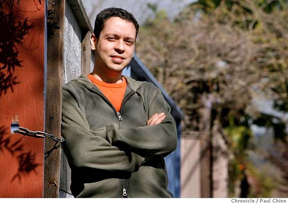 Political blogger Markos Moulitsas Zuniga, in Berkeley, Calif. on 3/17/06, posts the most popular blog (www.dailykos.com) in the nation and has just come out with a book.  PAUL CHINN/The Chronicle MANDATORY CREDIT FOR PHOTOG AND S.F. CHRONICLE/ - MAGS OUT Photo: PAUL CHINN