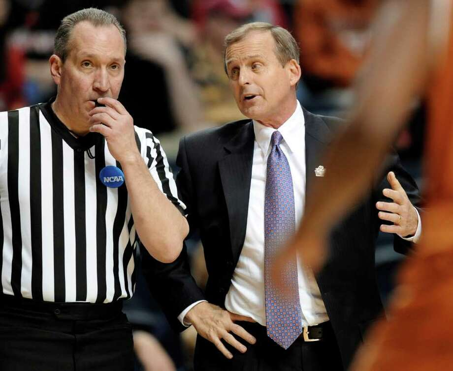Texas coach Rick Barnes says the Horns will move on if J'Covan Brown and Myck Kabongo enter the NBA draft. Photo: AP
