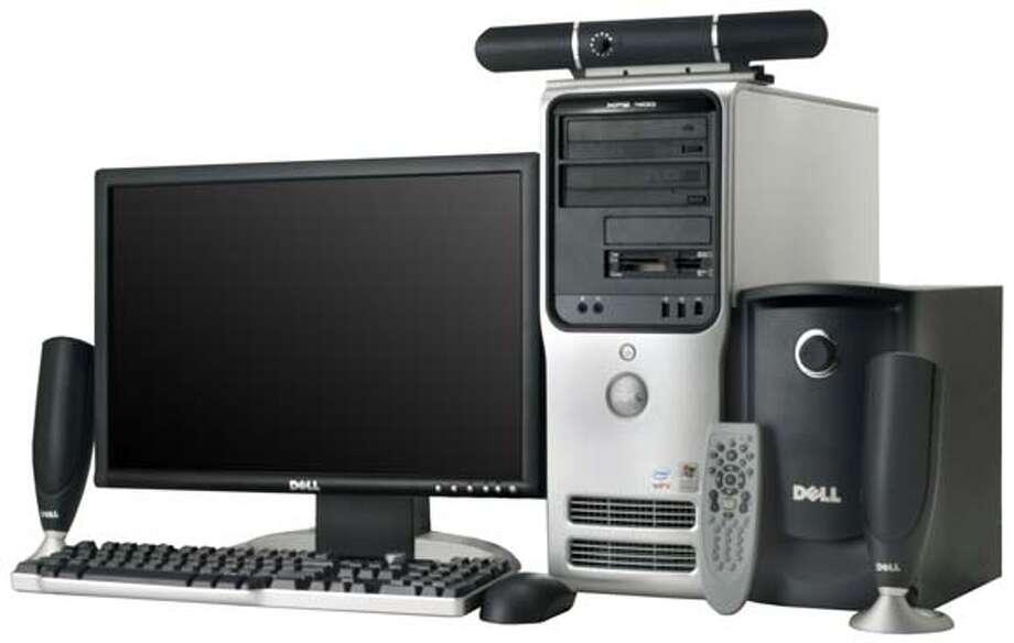 Intel's new Viiv multimedia PCs - Dell xps 400 viiv Photo: CNET