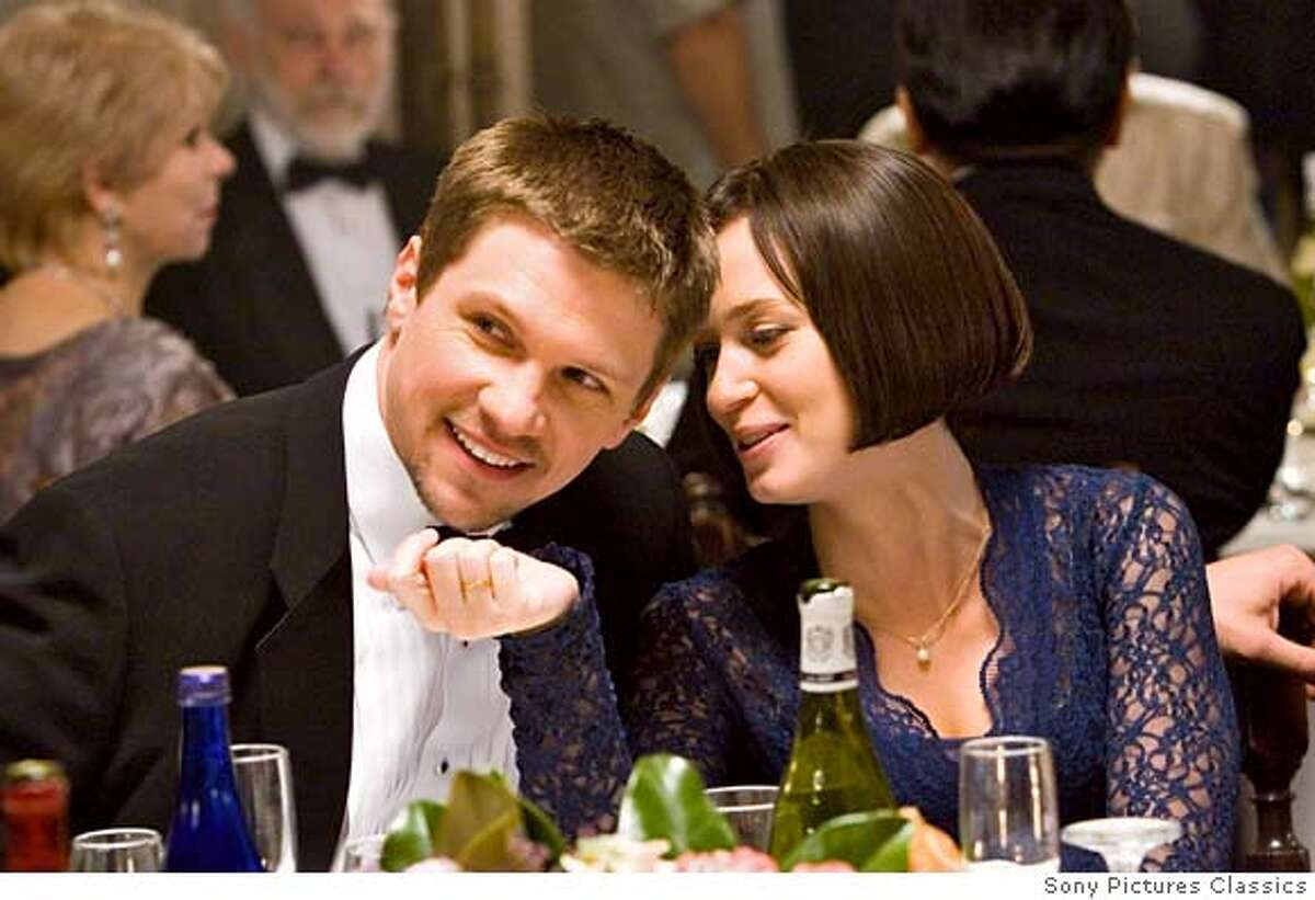 Left: Marc Blucas as Dean Right: Emily Blunt as Prudie Photo by Ralph Nelson 2007 Tom LeFroy, LLC, courtesy Sony Pictures Classics. All Rights Reserved.