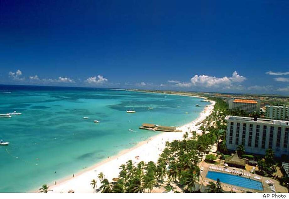Aruba's appeal to U.S. visitors lies in its sunny beaches and relatively high standard of living. Photo courtesy of Aruba Tourism Authority