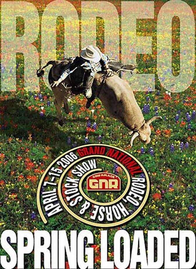 Grand National Rodeo poster for 2006 at the Cow Palace Photo: Tk