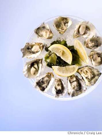 OYSTERGUIDE28_001_cl.JPG  Photo for Oyster and Wine pairing story.  on 9/21/07 in San Francisco. photo by Craig Lee / The Chronicle  Ran on: 09-28-2007  Photo caption Photo: Photo By Craig Lee