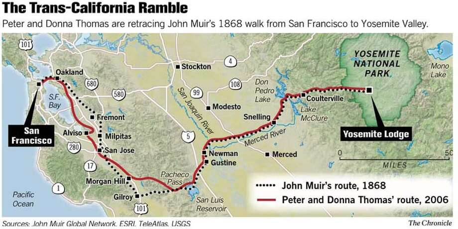 (B1) trans-california ramble