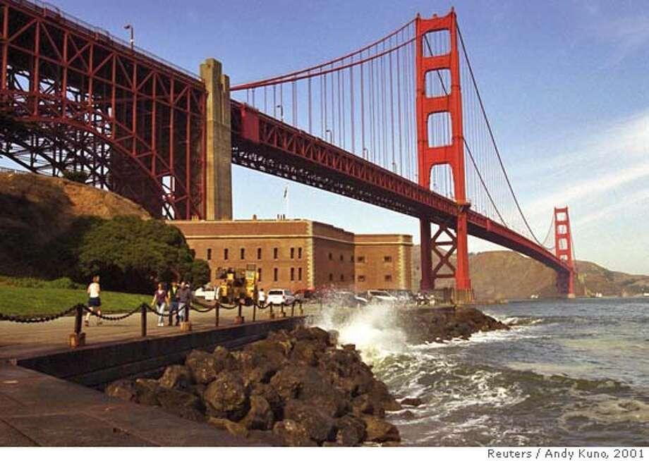 File photo of the Golden Gate Bridge Photo: ANDY KUNO