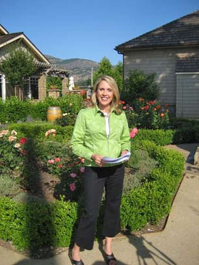 In Wine Country host Mary Babbitt on-location in Napa Valley. Handout.  Ran on: 09-28-2007 Photo: HO
