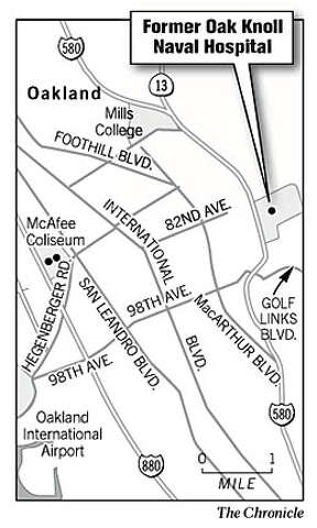 Oakland Company Shares Plans For Oak Knoll Housing Density Is