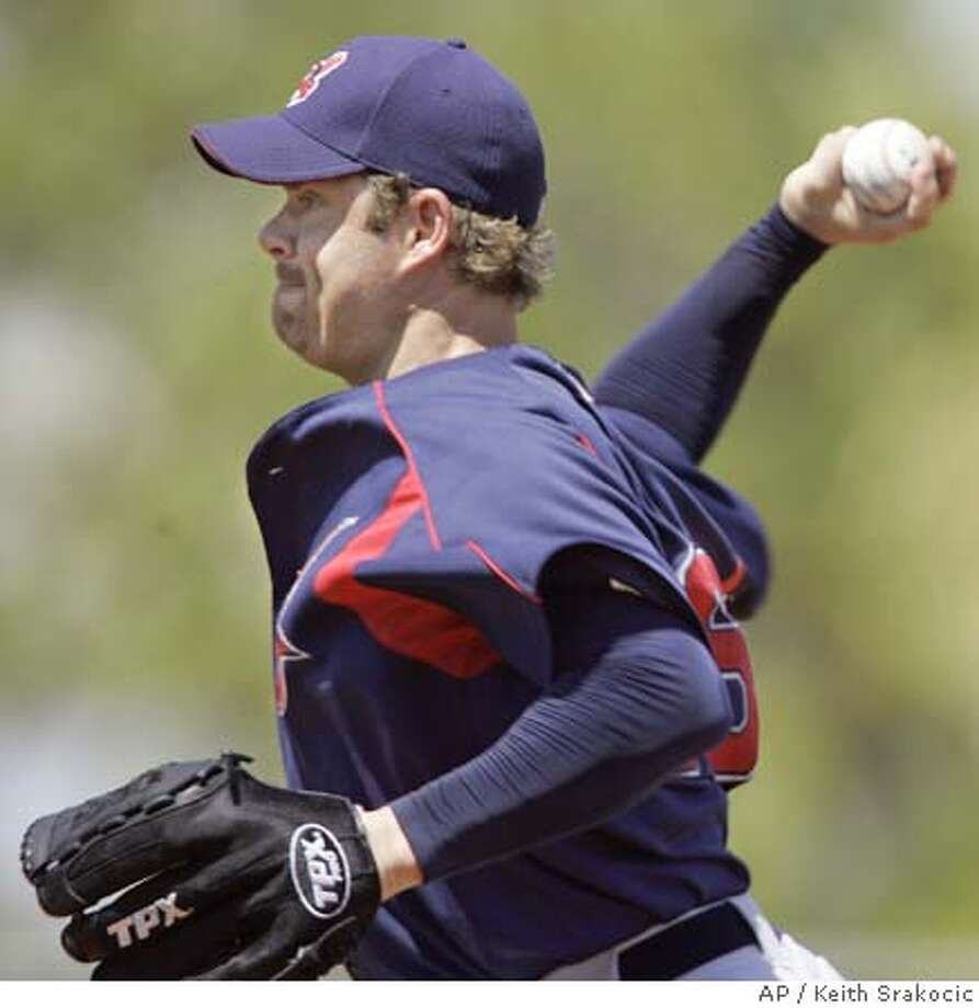Cleveland Indians starting pitcher Paul Byrd throws to Pittsburgh Pirates Jack Wilson in the first inning of a spring training baseball game in Bradenton, Fla. on Friday, March 17, 2006. (AP Photo/Keith Srakocic) Photo: KEITH SRAKOCIC
