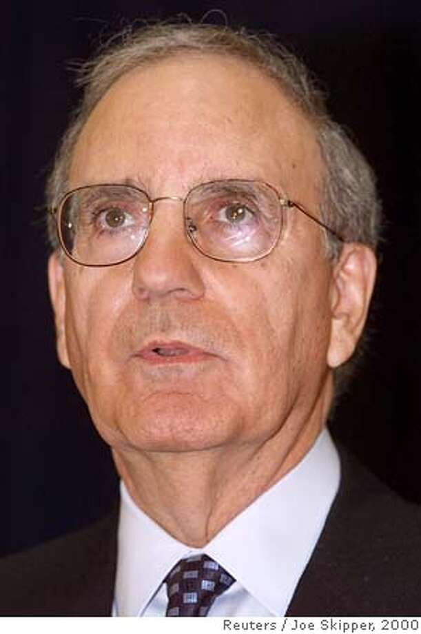 Former U.S. Sen. George Mitchell is shown in this November 2000 file photograph. The Walt Disney Co. board said on March 3, 2004 that it had split the roles of chief executive and chairman at the entertainment conglomerate, and said it had elected Mitchell chairman by a unanimous vote. The action came on the same day that 43 percent of shareholders voted against reelecting Chief Executive Michael Eisner to the board. REUTERS/Joe Skipper/Files Dell Chairman Dell Chairman 0 Photo: JOE SKIPPER