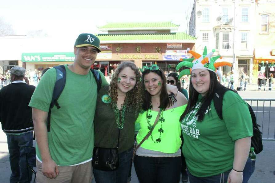 Were you Seen (maybe in green?) at the St. Patrick's Day Parade in Albany on Saturday, March 17, 201
