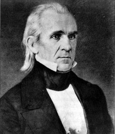 �former president james k. polk Ran on: 07-17-2005 Photo: Ho
