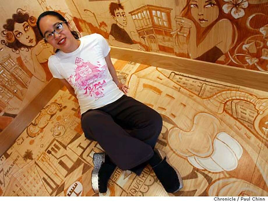 "Olivia Ongpin in her T-shirt boutique ""Fabric 8"" on 22nd Street in San Francisco, Calif. on 3/9/06.  PAUL CHINN/The Chronicle MANDATORY CREDIT FOR PHOTOG AND S.F. CHRONICLE/ - MAGS OUT Photo: PAUL CHINN"