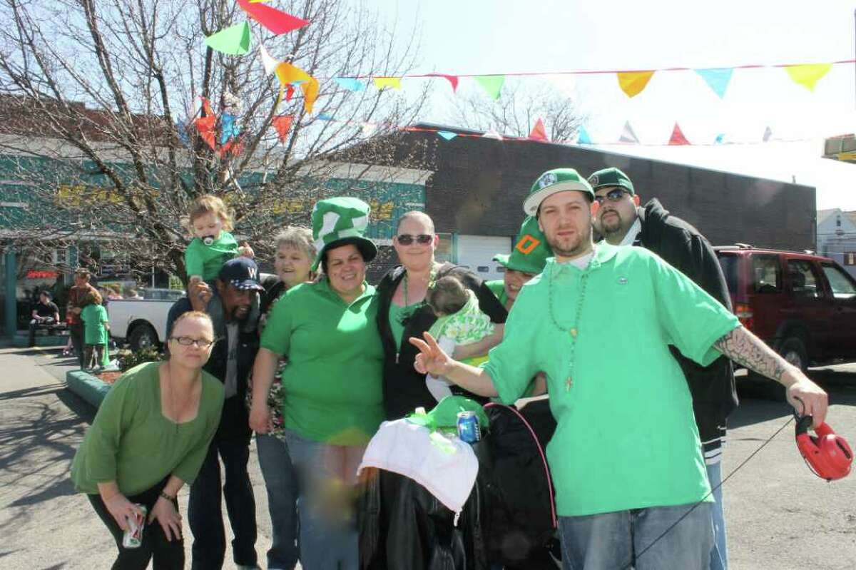 Were you Seen (maybe in green?) at the St. Patrick's Day Parade in Albany on Saturday, March 17, 2012