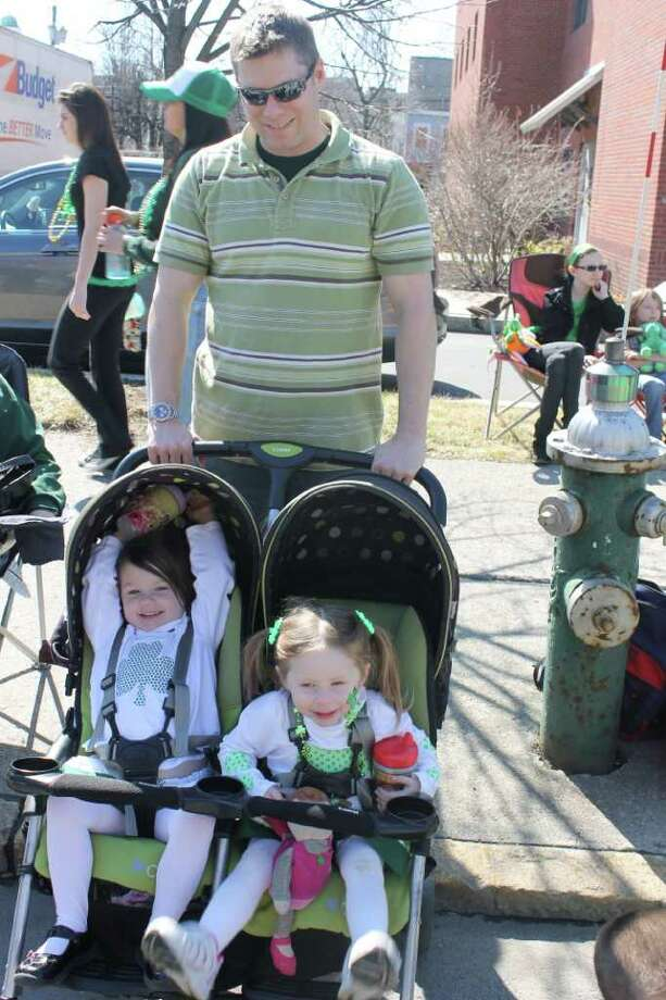 Were you Seen (maybe in green?) at the St. Patrick's Day Parade in Albany on Saturday, March 17, 2012 Photo: Photographer Name Abby Swint