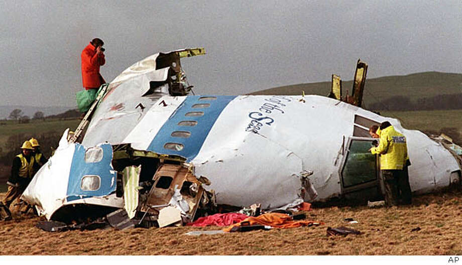 The author's brother died in Pan Am Flight 103, which exploded over Lockerbie, Scotland. Associated Press File Photo, 1988