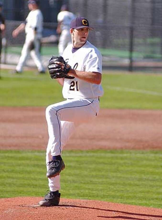 Cal pitcher Brandon Morrow Photo: Handout