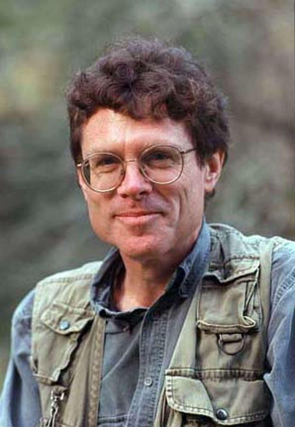 Video journalist James Irwin. (Chronicle photo by Nancy Wong, 2007)