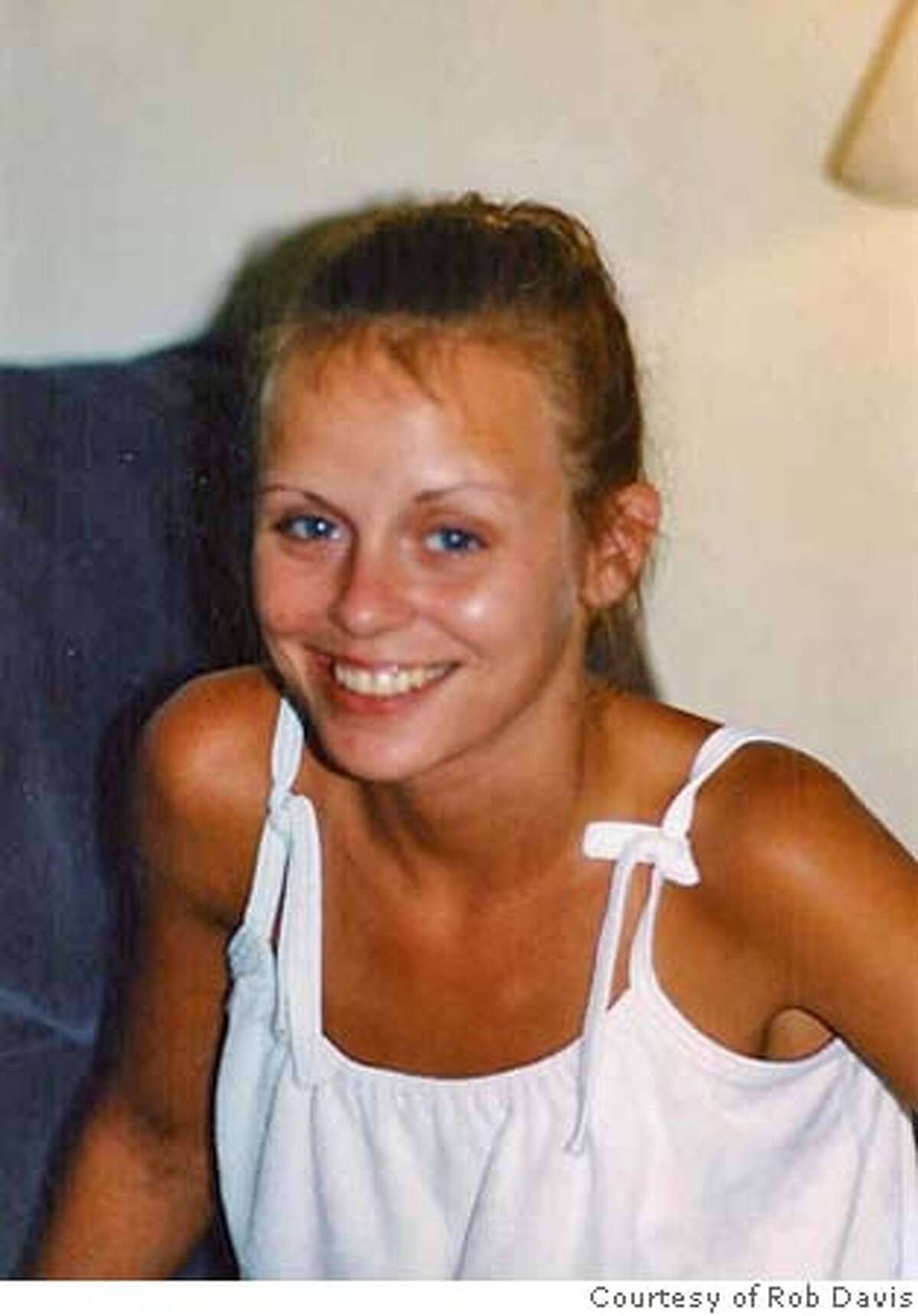 Rhonda Bye in her younger days in Washington state, before she came to San Francisco nearly three years ago as a heroin addict and became homeless. Courtesy Rob Davis