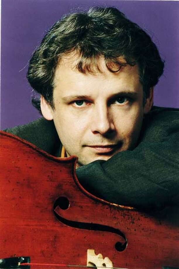 Pictured: Pieter Wispelwey. San Francisco Performances is presenting cellist Pieter Wispelwey, accompanied by pianist Dejan Lazic, Tuesday, March 21 at 8:00 p.m. at Herbst Theatre. Photo: Ho