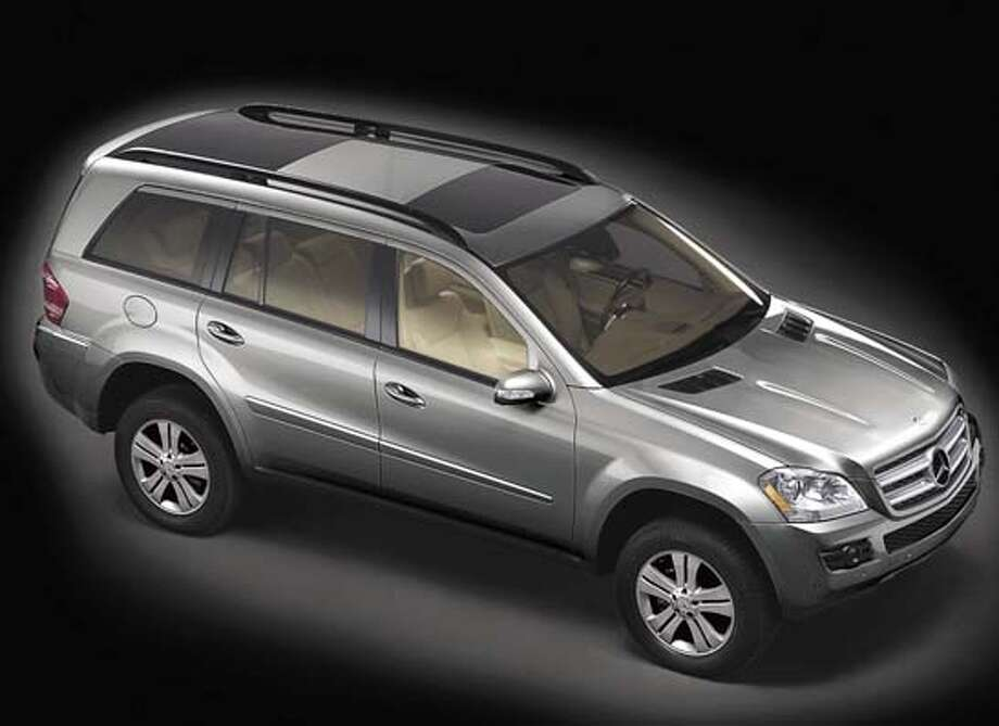 Mercedes GL450 SUV Ran on: 01-28-2006  The Mercedes GL450 is designed to compete in the high-end U.S. sports utility market with a probable price tag in the $60,000 range. Photo: Mb