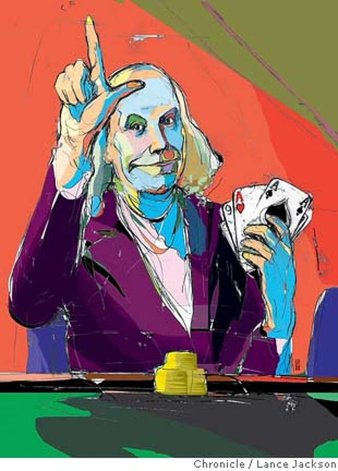 Your ace in the hole. Chronicle illustration by Lance Jackson Photo: Lance Jackson