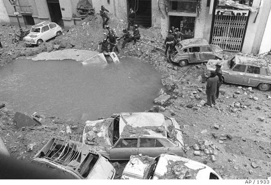 CAR BOMB Photo: File