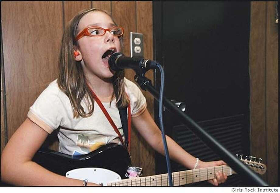 Amelia in Girls Rock! Photo: Handout