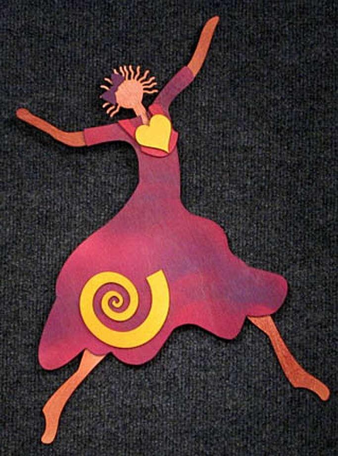 """""""Dancer"""" by Cheryl Olney, $65"""