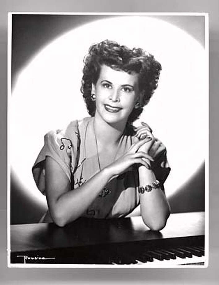 obit_conniestrang.jpg Obit photo of Connie Strang. 1948 MANDATORY CREDIT FOR PHOTOG AND SF CHRONICLE/ -MAGS OUT Photo: Handout