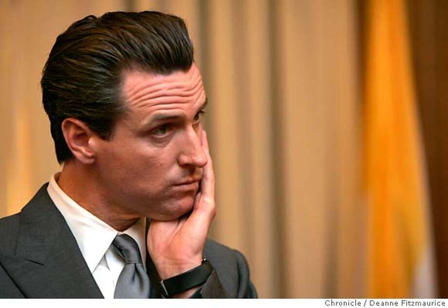 daly21_0036_df.jpg  Mayor Gavin Newsom participates in a press conference about solar power in San Francisco and is asked about Supervisor Chris Daly's suggestion that the mayor used cocaine. Photographed in San Francisco on 6/20/07. Deanne Fitzmaurice / The Chronicle Ran on: 06-24-2007  Daniel Horowitz, the famed defense attorney and TV legal analyst, is on an Italian honeymoon with his new bride.  Ran on: 06-24-2007 Mandatory credit for photographer and San Francisco Chronicle. No Sales/Magazines out. Photo: Deanne Fitzmaurice