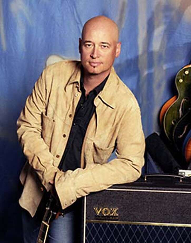 Train guitarist Jimmy Stafford: a James Frey fan. Photo courtesy of voxamps.co.uk