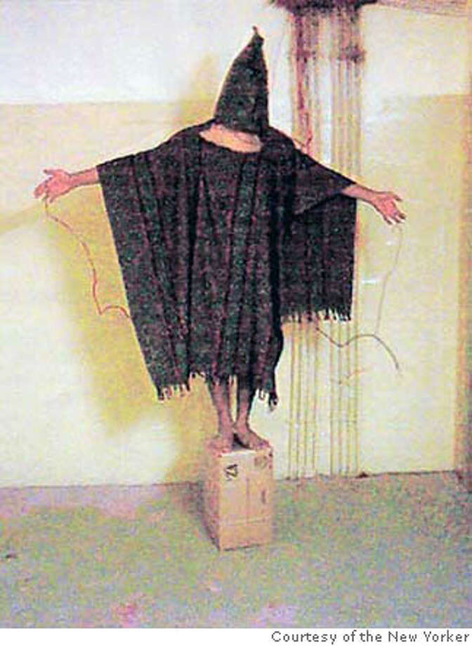 Prisoner abuse at Abu Ghraib prison near Baghdad is a symptom of U.S. moral malaise. Photo courtesy of The New Yorker